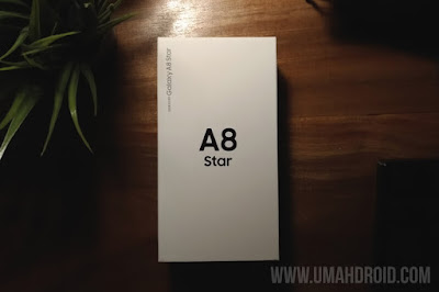 Unboxing Samsung Galaxy A8 Star Indonesia