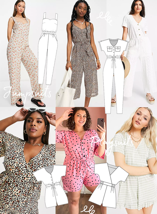 Sewing For The Season - Summer! Jumpsuits & Playsuits