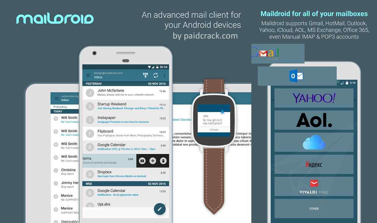 MailDroid Mod Apk