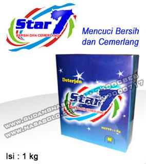DETERGEN STAR 7 NASA Rp.30.000,-