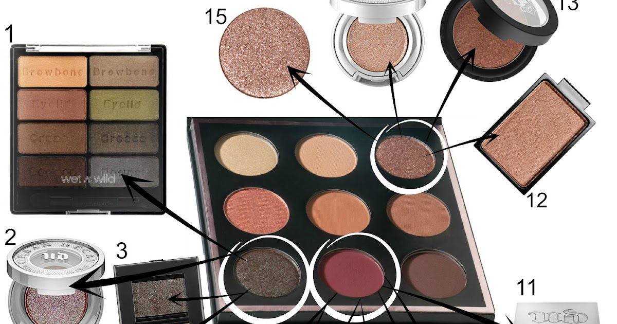 Makeup geek foiled eyeshadow dupes