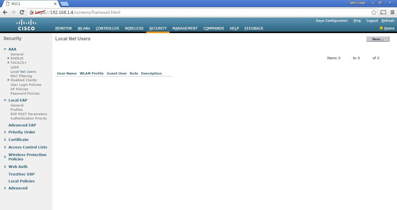 My Ccna Wireless Journal Configuring Guest Wireless Network Via