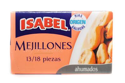 Isabel Mejillón ahumado