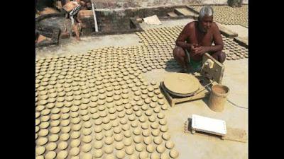 4 lakh diwali diyas for Ayodhya