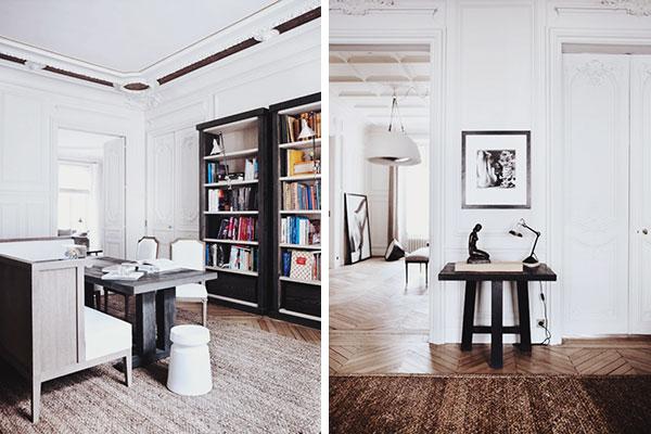 Décor Inspiration | Ornate Austerity : by Gilles et Boissier, Paris