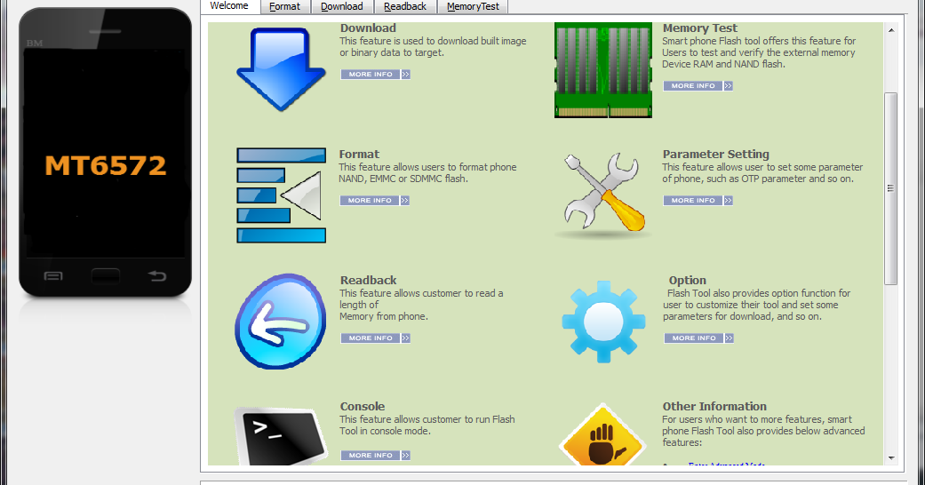 sp flash tool v 5.1408.00 на русском