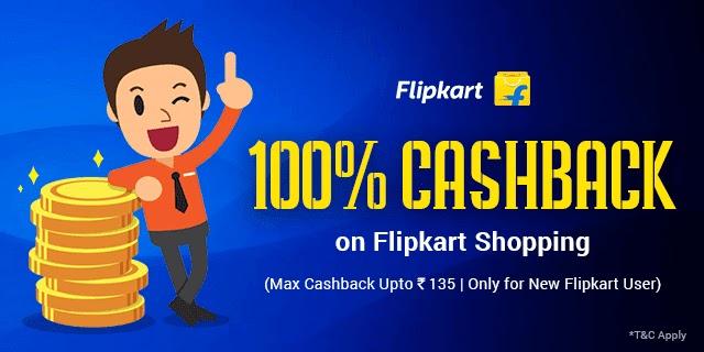 100% cash back,flipkart free shopping,zingoy offer,