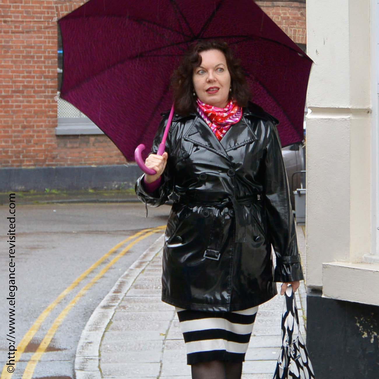 smart casual raincoat