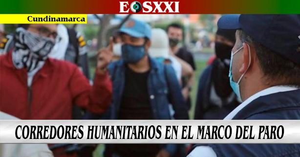 Habilitados 60 corredores humanitarios en diferentes puntos del país