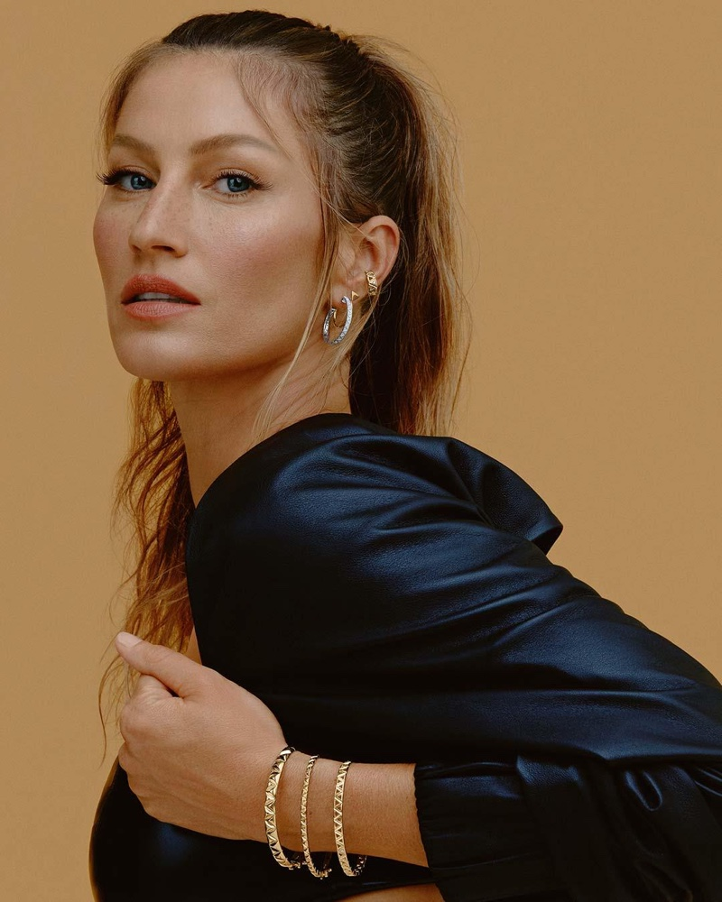 Gisele goes glam for the Vivara 2021 Jewelry Campaign