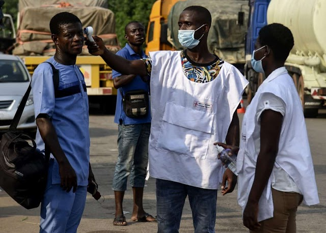 Video Of  Residents Destroying Coronavirus Test Centre
