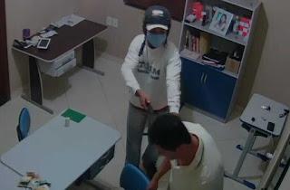 Bandido assalta homem no Entroncamento de Jaguaquara