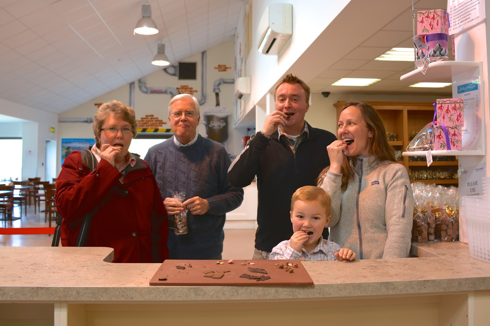 Chocolate tasting at Skelligs Chocolate on the Kerry Peninsula, Ireland