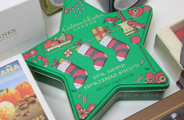A picture of Crabtree & Evelyn Star Shaped Shortbread Tin