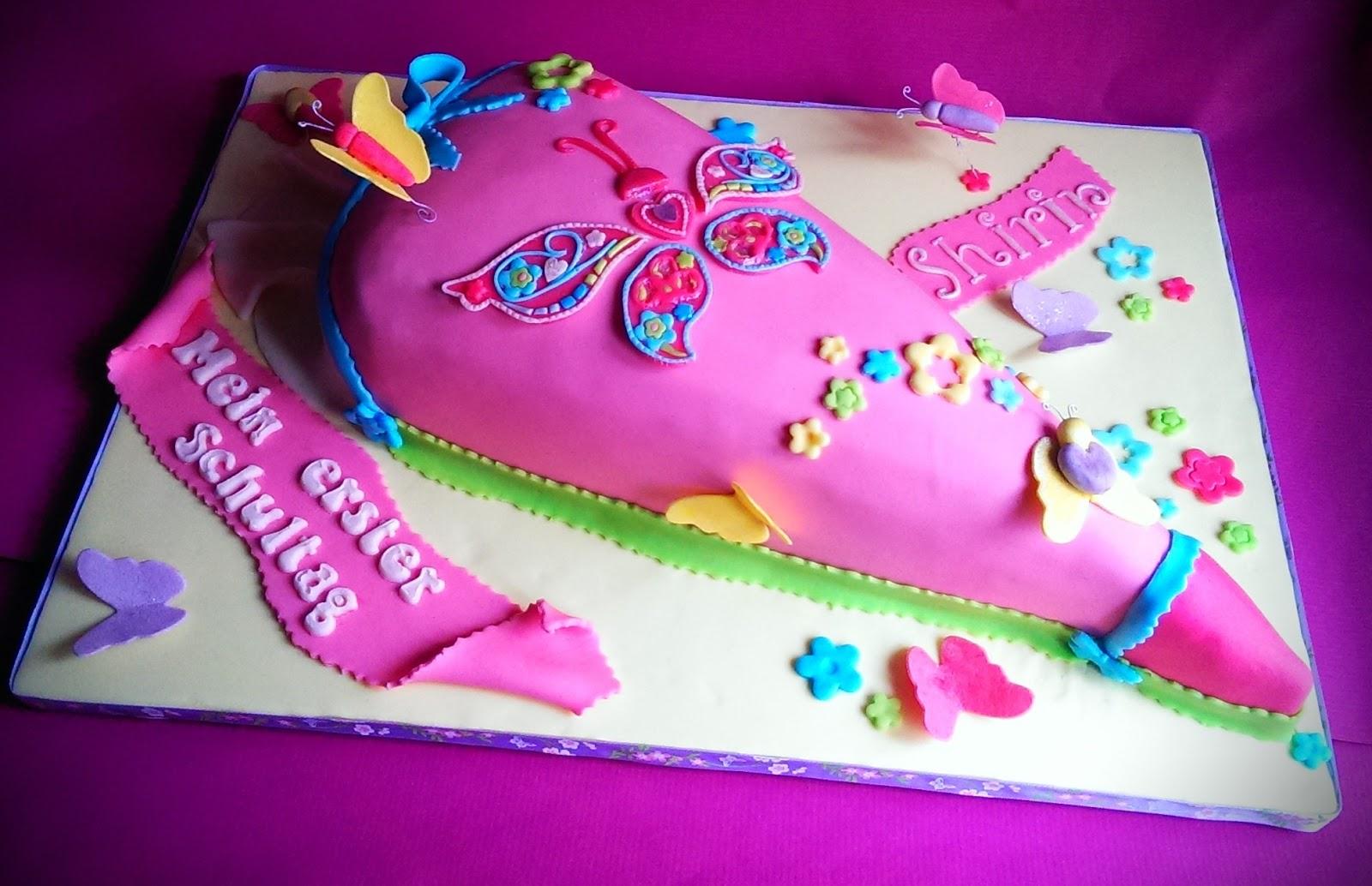 Süßes Sonst Wirds Herzhaft Einschulungstorte