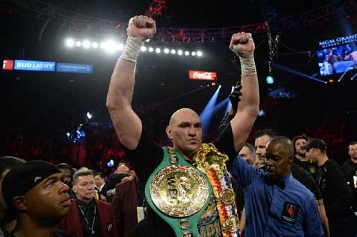 Fury wants quick unification bout with Anthony Joshua