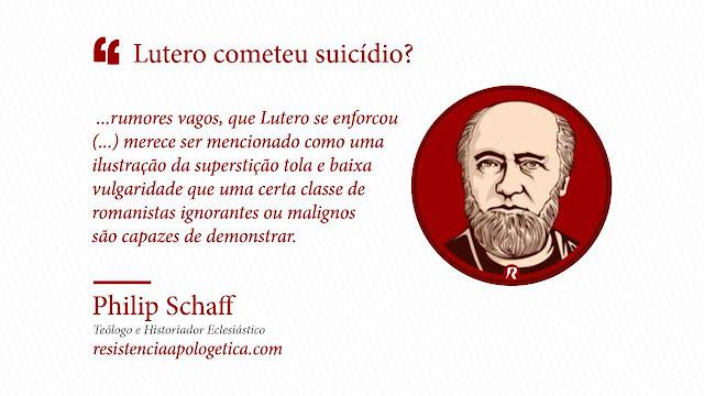 Suicídio de Lutero