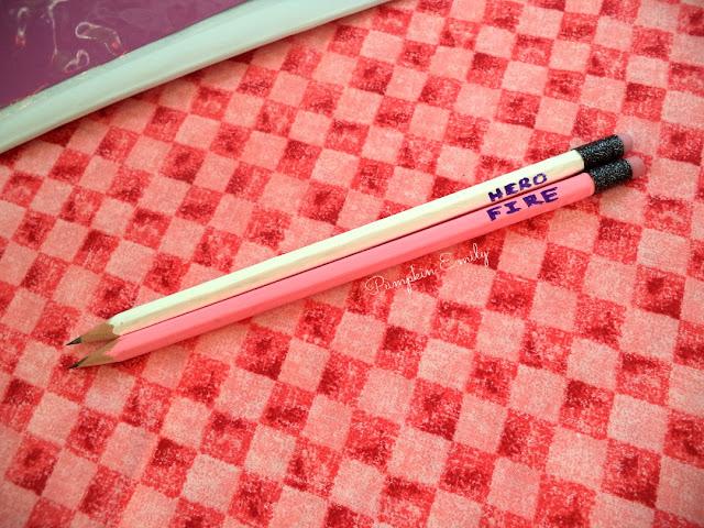DIY Kpop Glitter Pencils