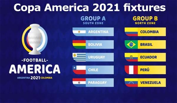 Copa America 2021 Fixtures Download | কোপা আমেরিকার পূর্ণাঙ্গ সূচি
