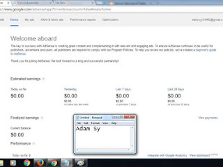 Jual Akun Google Adsense US Full Approved