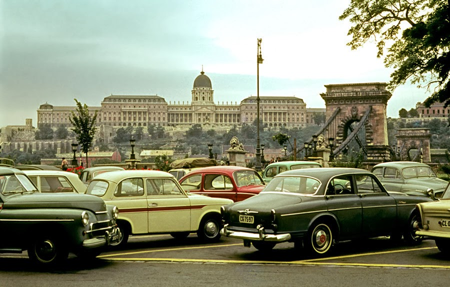 Color Photographs of Budapest, in 1956 circa 1960s-1970s ...