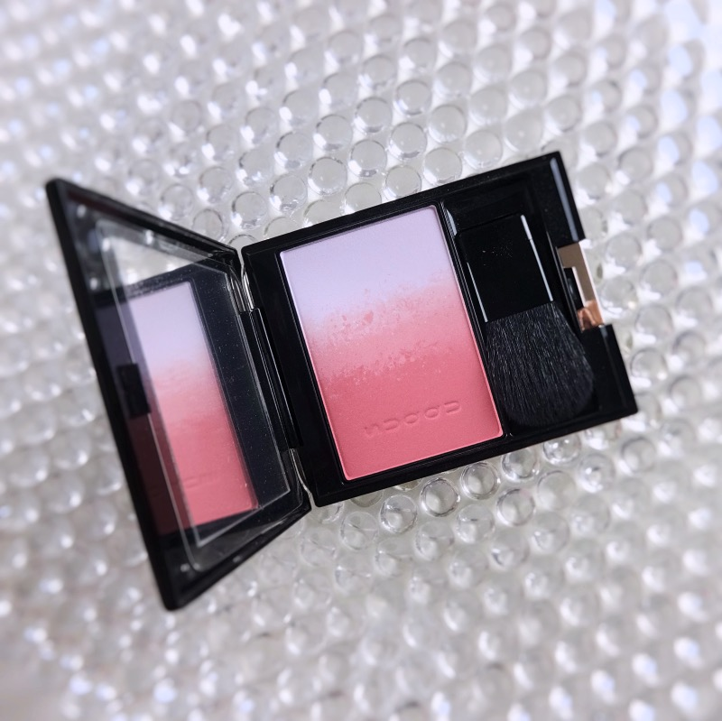 Suqqu Pure Color Blush 06 Harusumire review swatch
