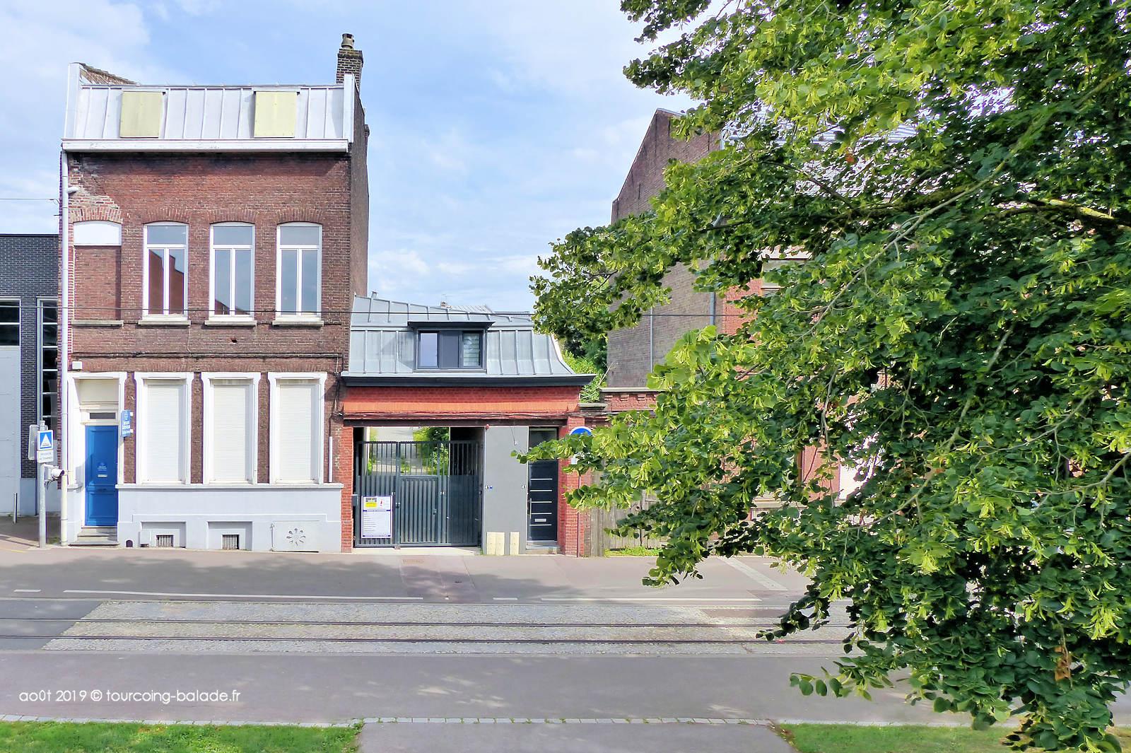 Façades de maisons - Rue Chanzy, Tourcoing