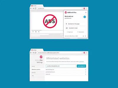 أفضل أدوات منع الإعلانات: Adblock plus