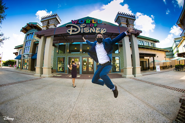 Disney, Disney Parks, WDW, Walt Disney World Resort, 迪士尼之泉, 第一階段重開, Welcome Back: the Phased Reopening of Disney Springs