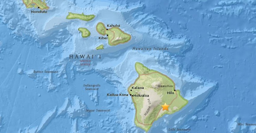TERREMOTO EN HAWÁI de magnitud 5.4 y Alerta de Tsunami (Hoy Jueves 21 Junio 2018) Sismo Temblor EPICENTRO EE.UU. - USGS