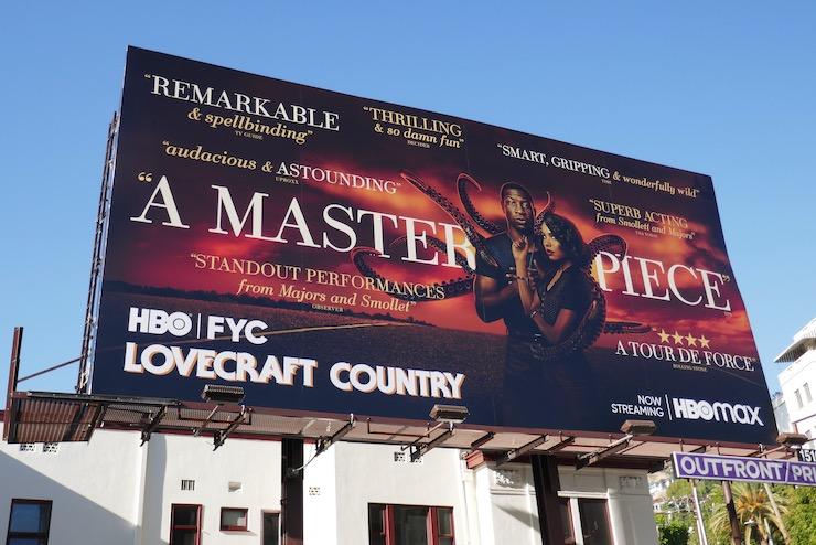Lovecraft Country season 1 FYC billboard