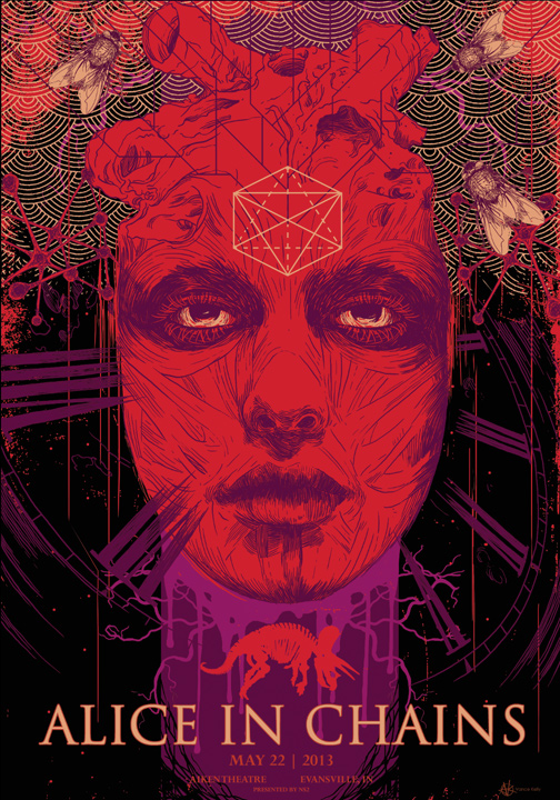 Alice In Chains Art : vance kelly art poster for alice in chains ~ Russianpoet.info Haus und Dekorationen
