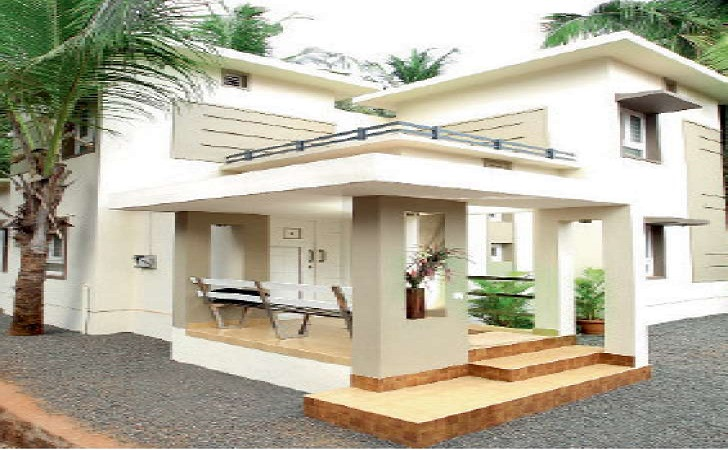 Cost effective 4 bedroom modern home in low budget free for Cost effective house plans