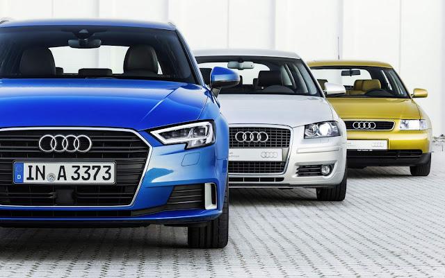 Audi comemora o aniversário de 20 anos do A3 - histórico