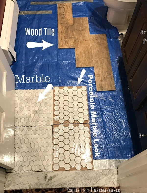 Comparing Bathroom Floor Tile
