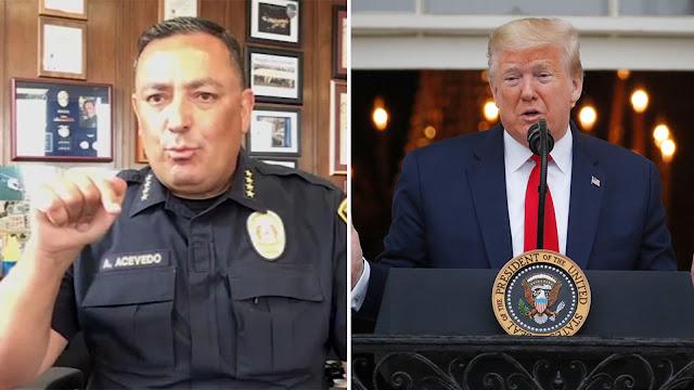 Astaga! Kerap Menimbulkan Keresahan, Kepala Polisi Texas Minta Donald Trump Diam