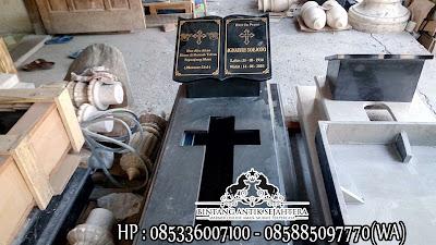 Model Kuburan Kristen Modern, Jual Makam Granit Murah, Kijing Kuburan Kristen