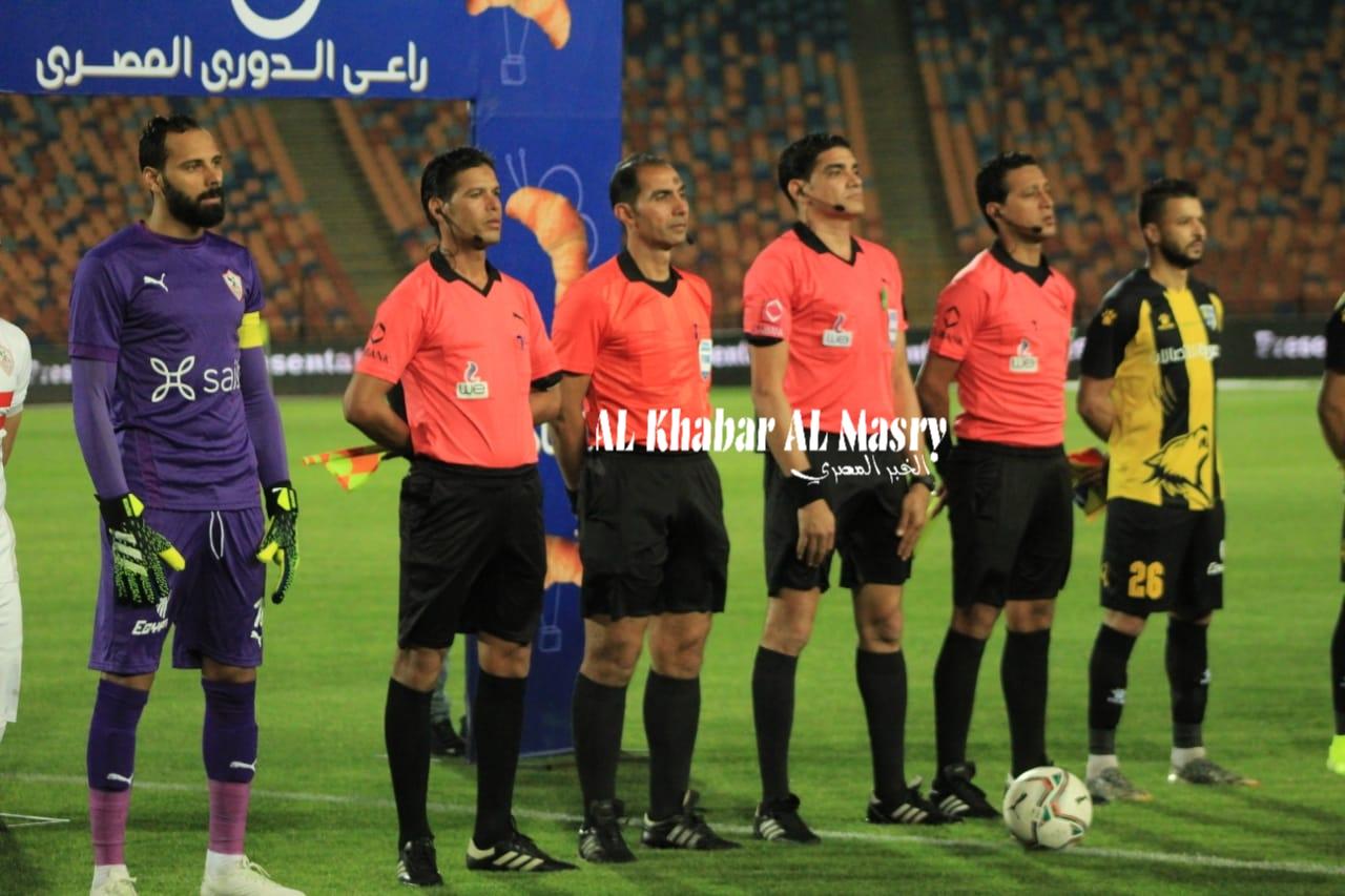 بعدسة الخبر المصري|  شاهد صور مباراة الزمالك والمقاولون العرب