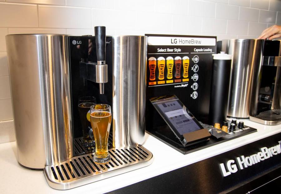 LG presenta la HomeBrew, una maquina capaz de producir cerveza en casa