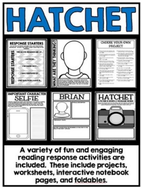 28 best Hatchet images on Pinterest   Hatchet activities, Hatchet ...
