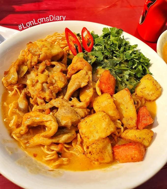 Cà ri gà 25k ngon nhất Hà Nội - Sân A5 ngõ 105 Láng Hạ
