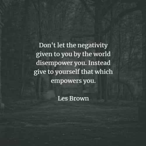 Famous quotes and sayings by Les Brown