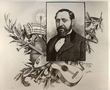 J. Diéguez - Grabado de F. A. Barbieri - 1894