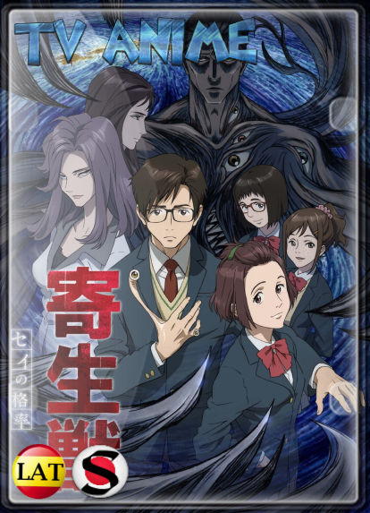 Parasyte (Temporada 1) HD 1080P LATINO/JAPONES