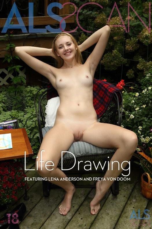 1488022794__als-life-drawing-cover [Debriz] Freya Von Doom, Lena Anderson - Life Drawing