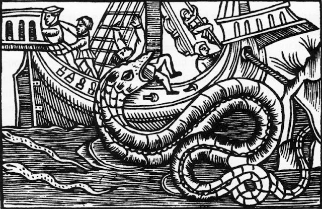 kisah nyata naga laut
