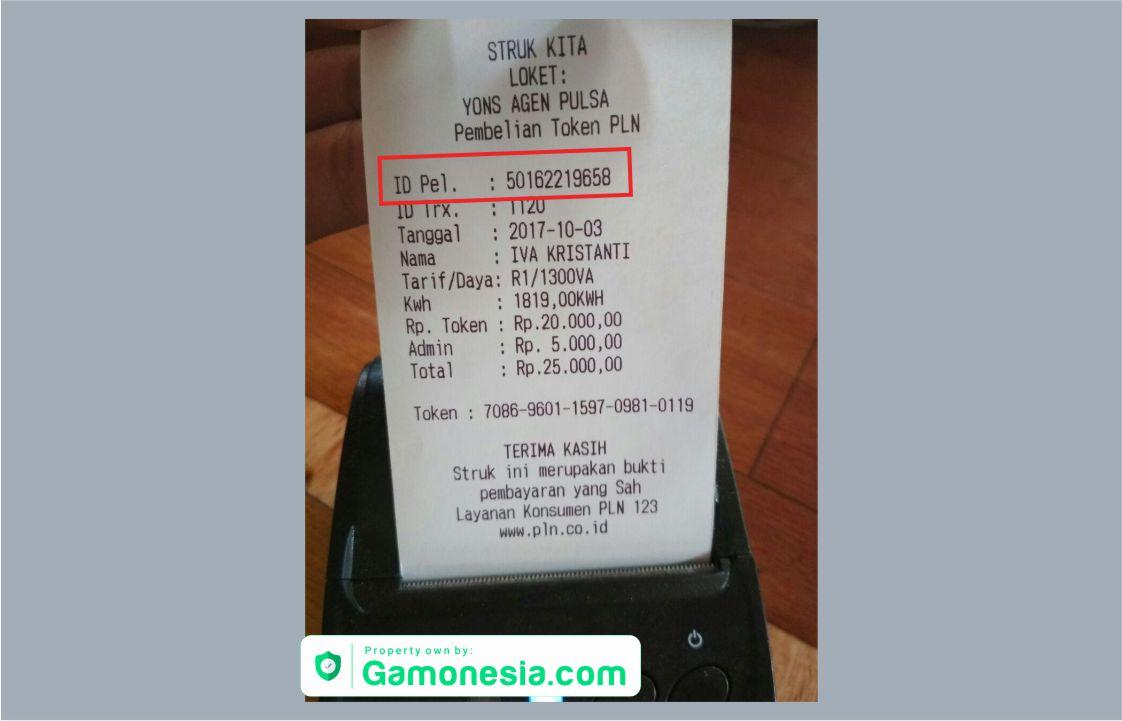 cara mengetahui id pelanggan listrik