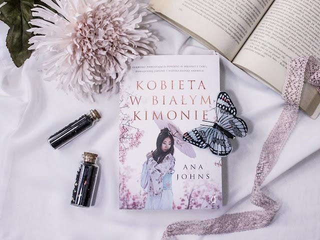 """""""Kobieta w białym kimonie"""" Ana Johns - recenzja przedpremierowa"""