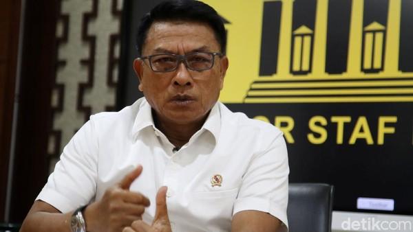 Jarangnya Moeldoko Tampil Dinilai Demi Kurangi Desakan Mundur dari KSP