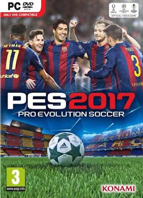 PES 2017: Pro Evolution Soccer 2017 PT-BR + Crack PC Torrent